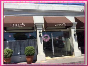 Larcy's welcoming facade..