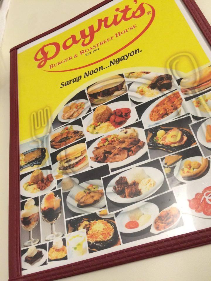 d menu