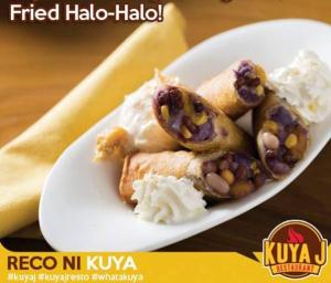 Photo courtesy of: https://www.facebook.com/KuyaJResto/