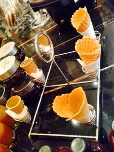 Yummy cones!