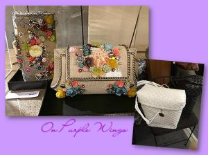 Buslo.. and intricately embellished clutches..