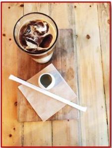 My cafe latte..