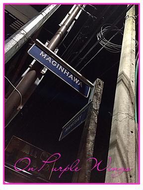 The very popular Maginhawa street..