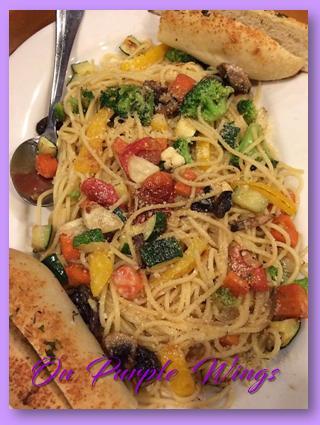 veggie pasta