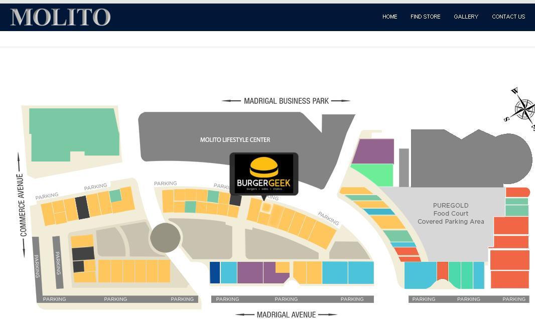 burger geek map